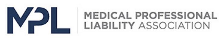Medical Professional Liability Association Logo