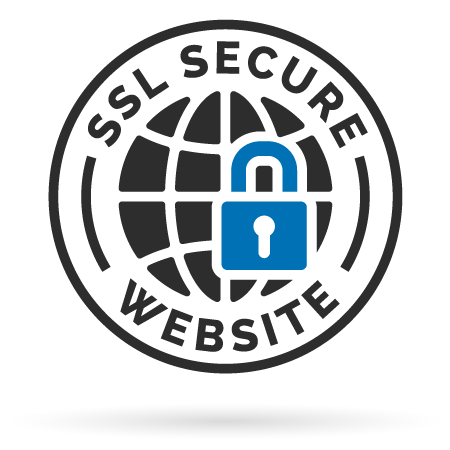 Website is secured with SSL