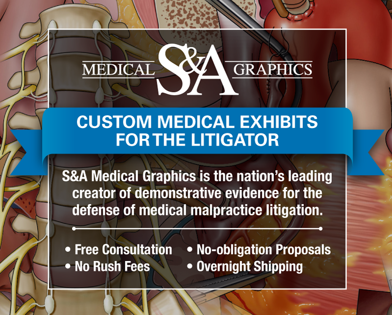 Medical Legal Illustration Trial Exhibits